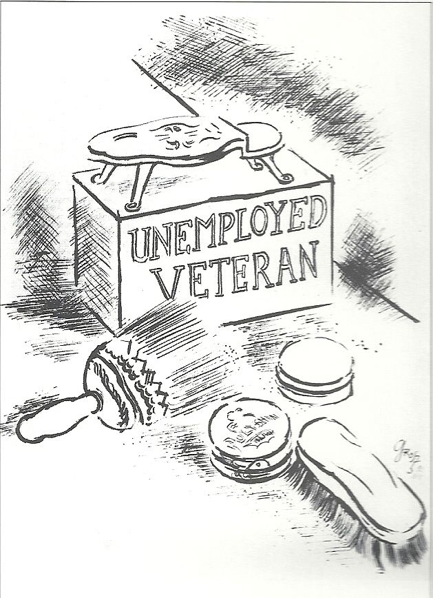 UNEMPLOYED VETERAN